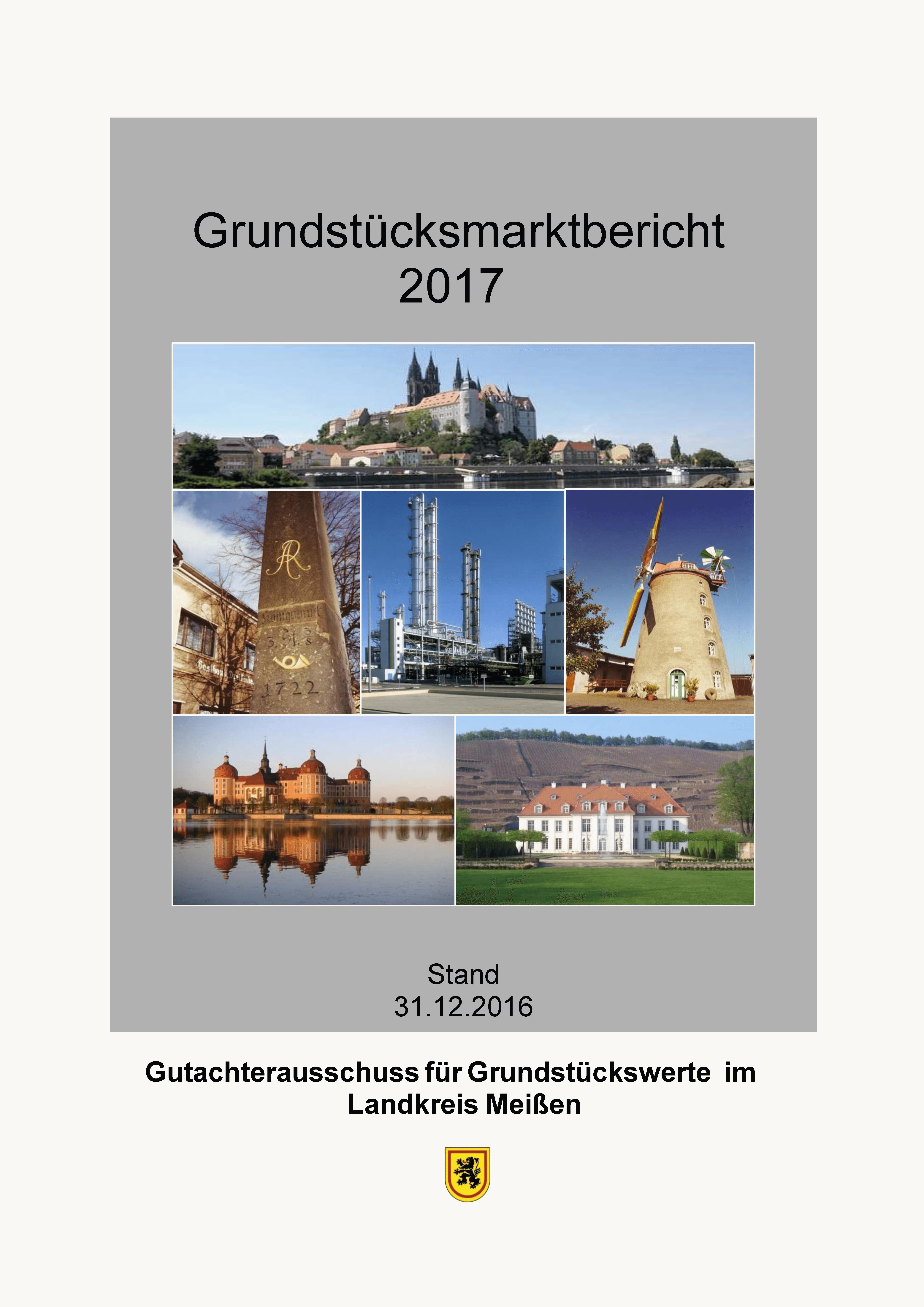 Grundstücksmarktbericht 2017 Landkreis Meißen