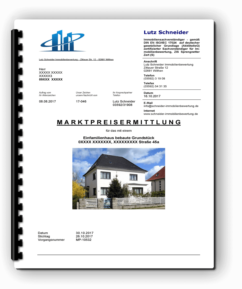 Immobilienbewertung Cavertitz 14