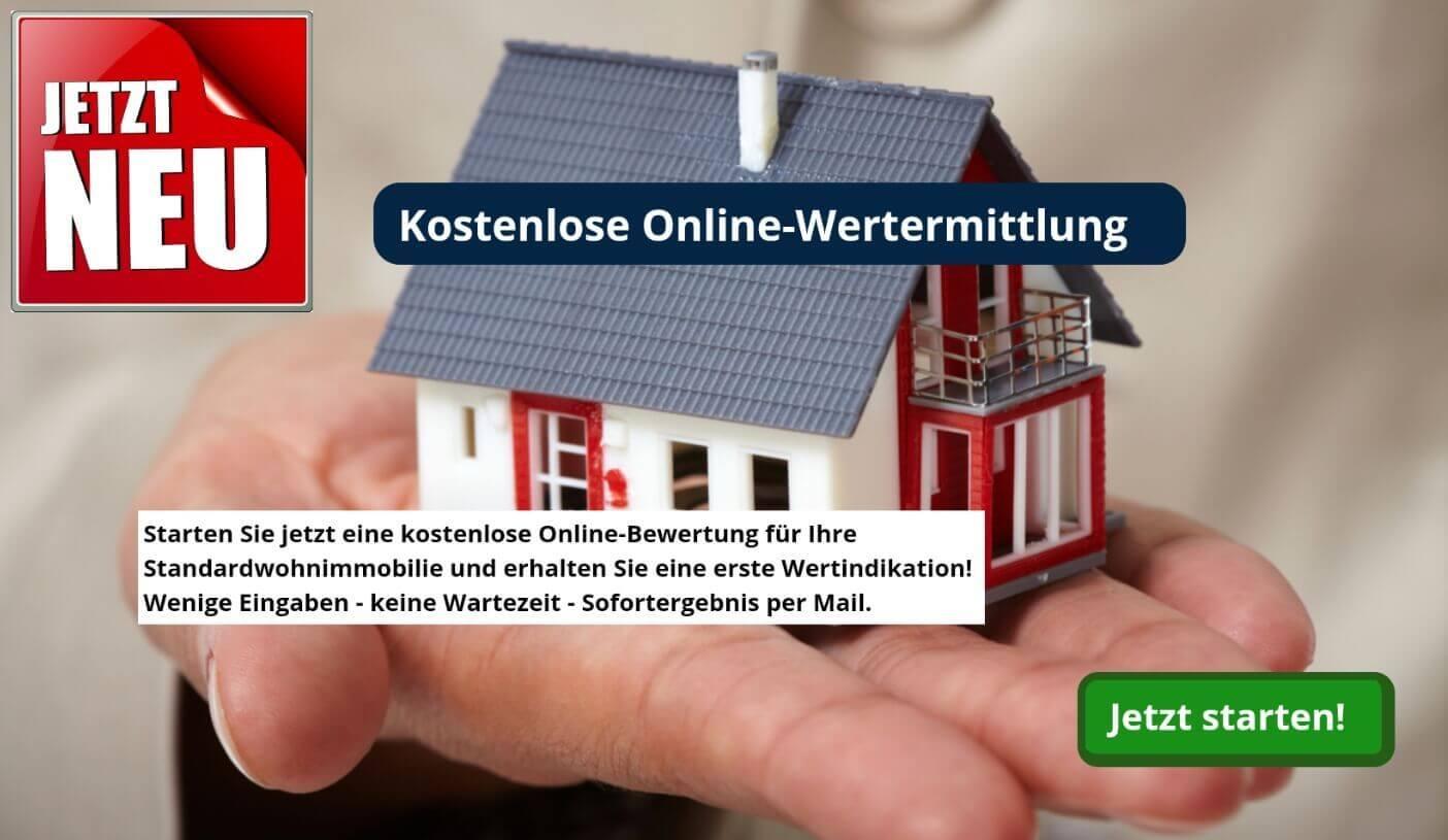Immobilie online kostenlos bewerten