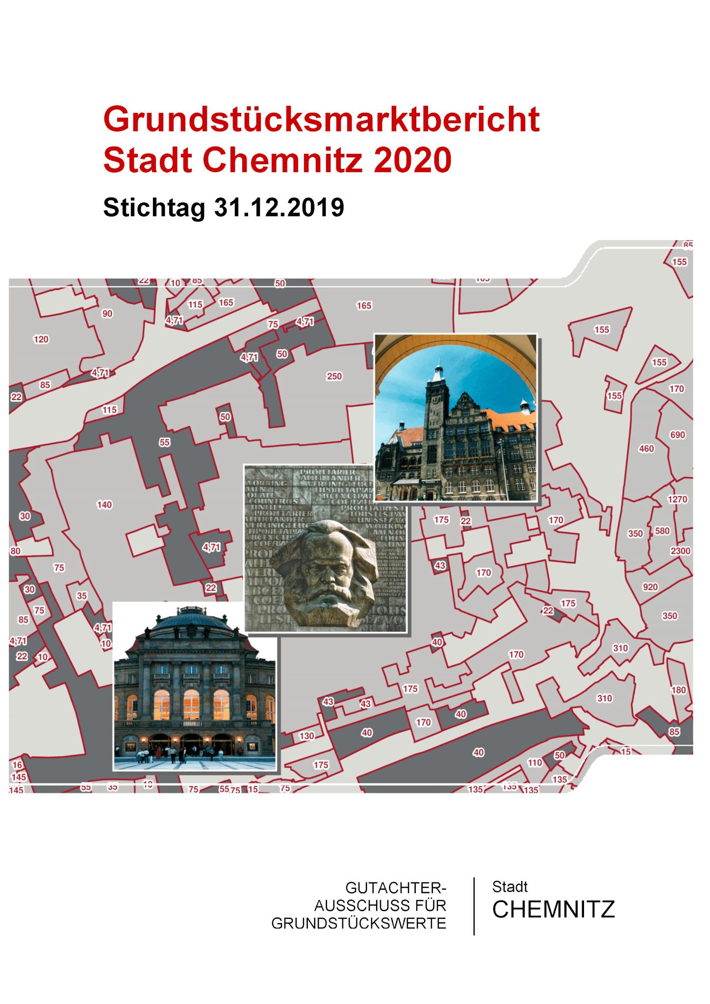 Grundstücksmarktbericht Chemnitz 2020 und neue Bodenrichtwerte veröffentlicht 1