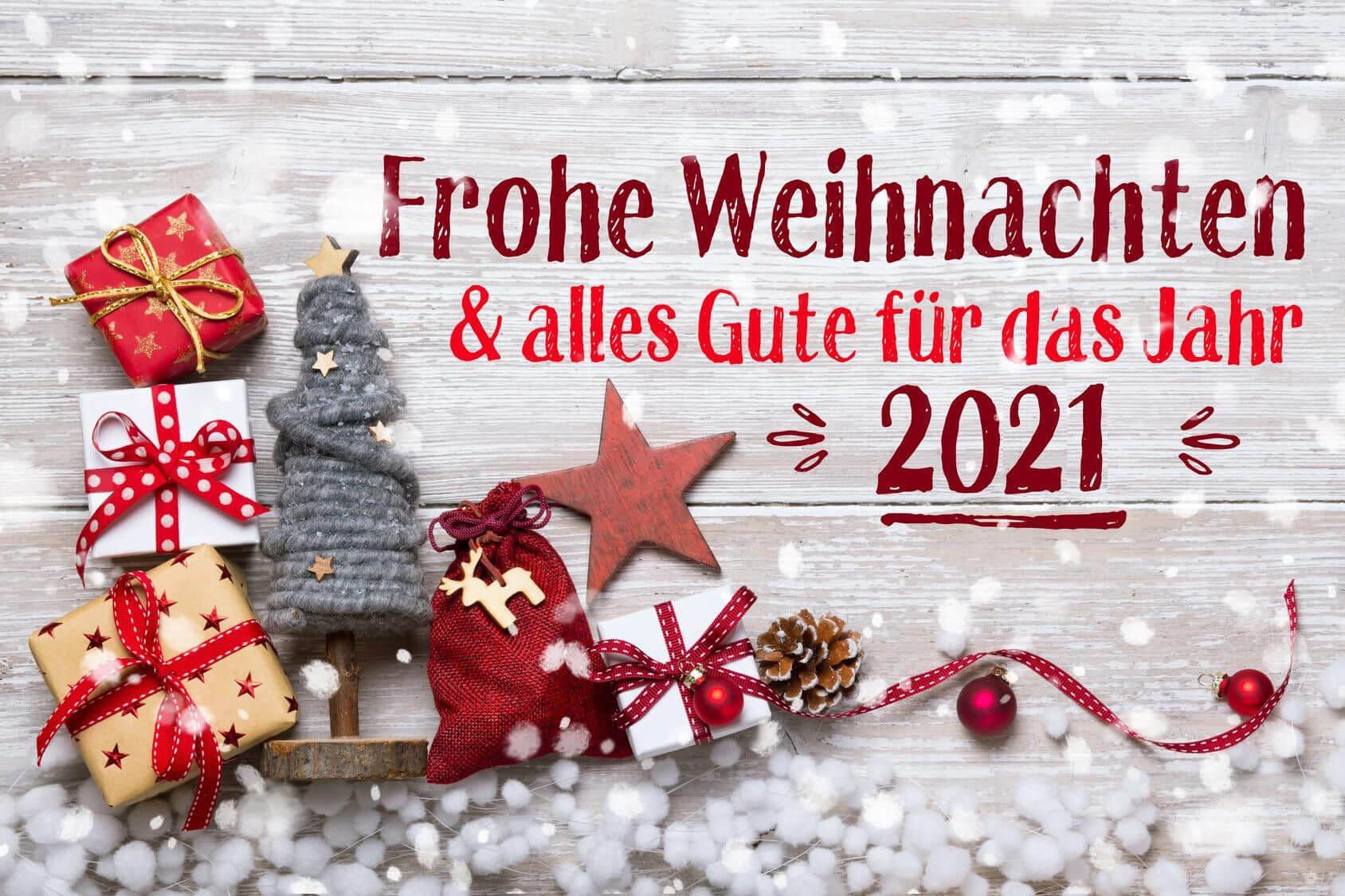 Frohe Weihnachten und alles Gute für das Jahr 2021 1