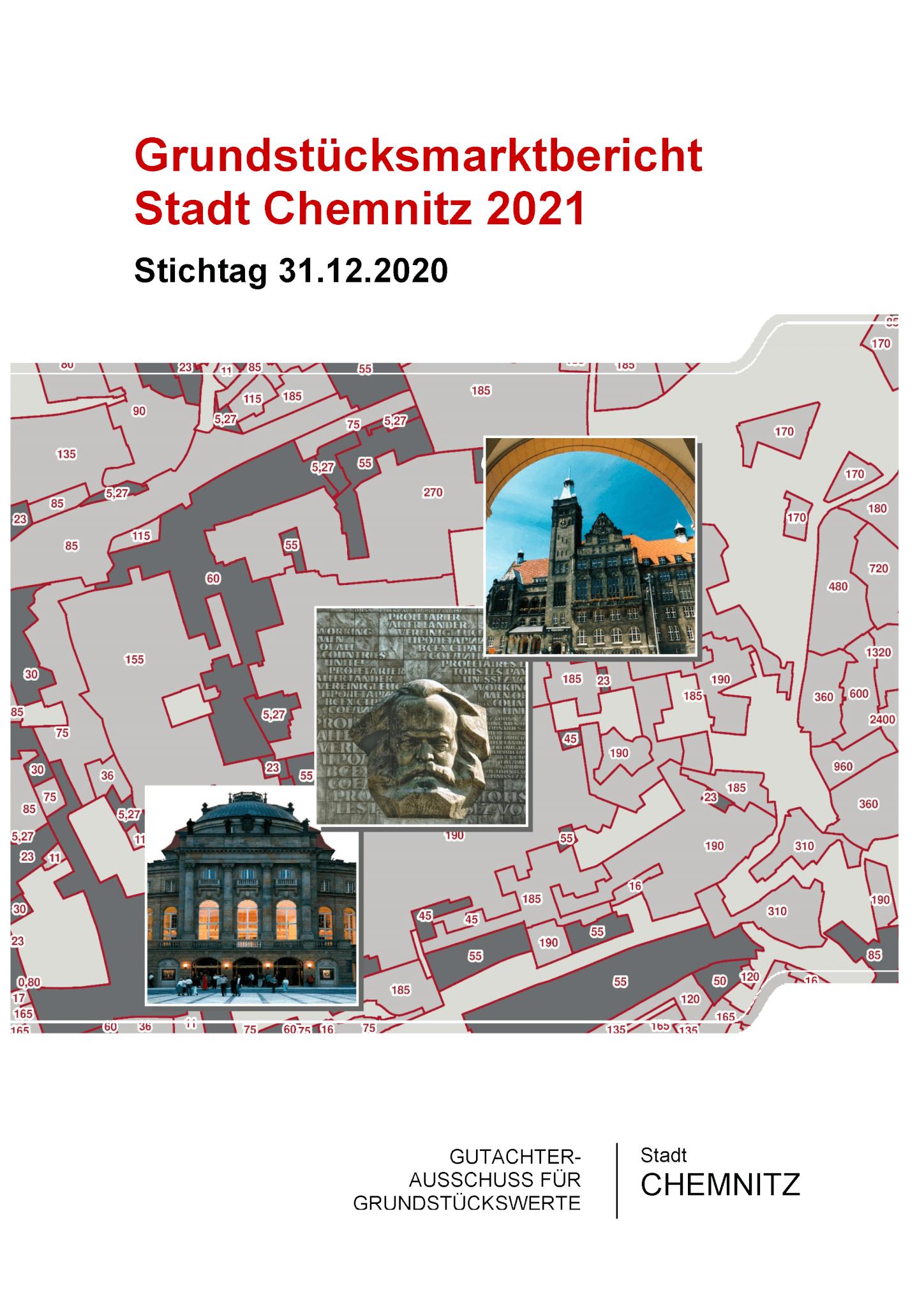 Grundstücksmarktbericht Chemnitz 2021