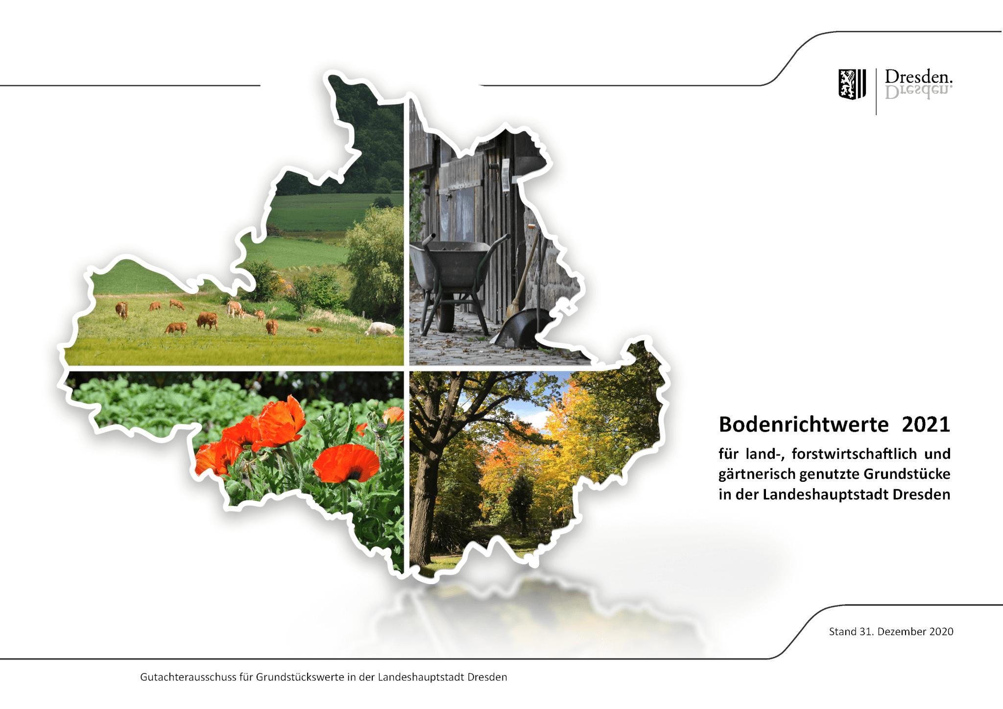Grundstücksbewertung Dresden – Grundstücksmarktbericht Dresden 2021 veröffentlicht 2