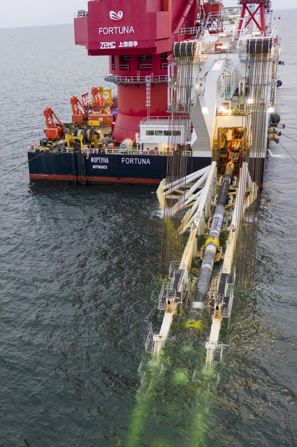 Letztes Rohr der Nord Stream 2 Pipeline verschweißt 2