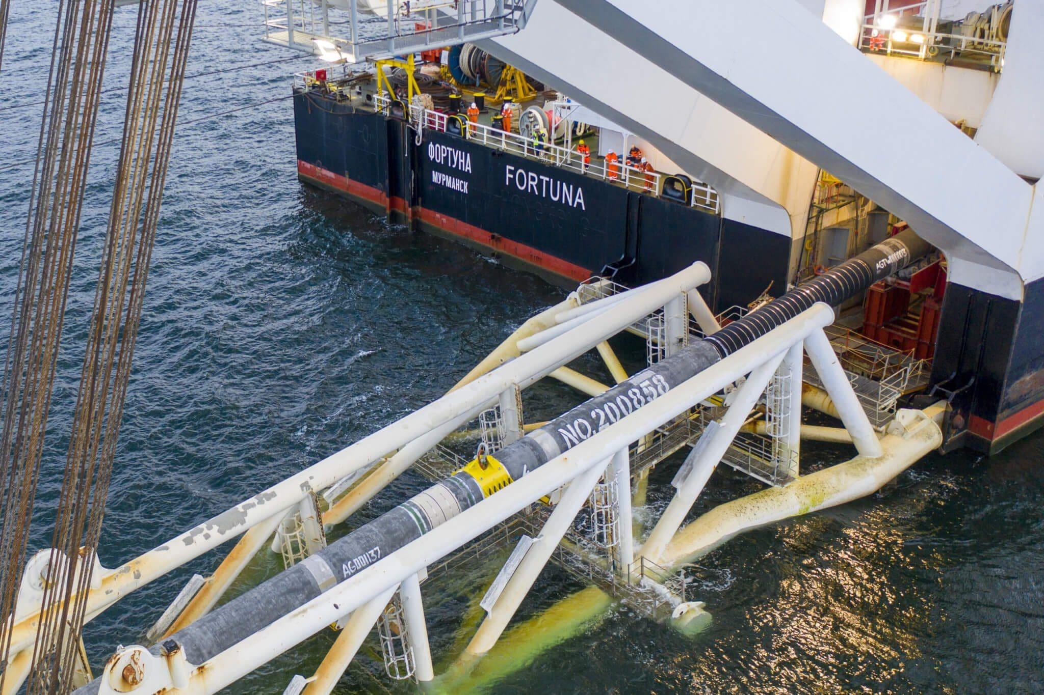 Letztes Rohr der Nord Stream 2 Pipeline verschweißt 3