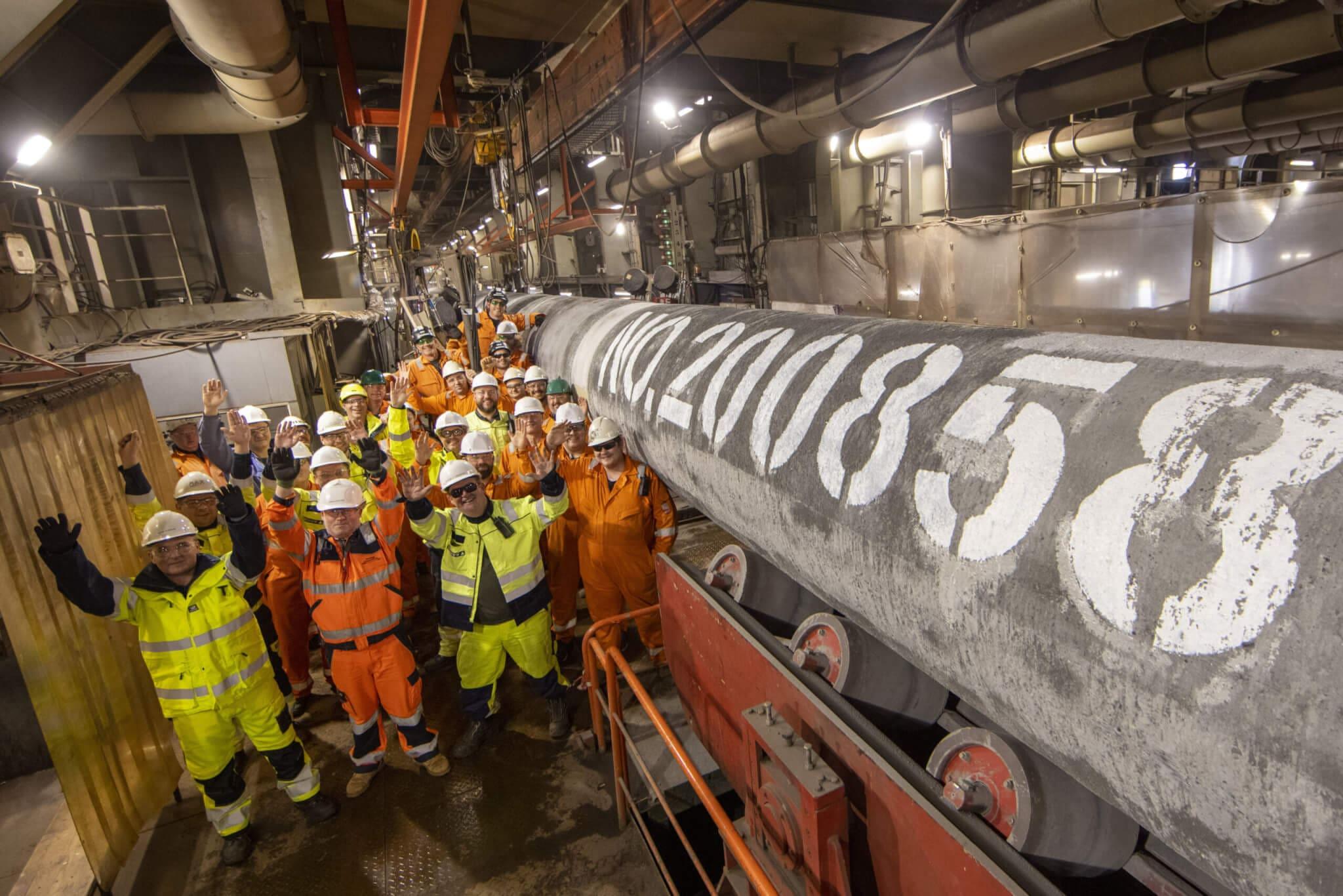 Letztes Rohr der Nord Stream 2 Pipeline verschweißt 1